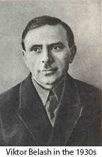Viktor Belash in the 1930s